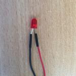 Famicom led mod con led 5 mm