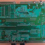 Sega Master System Mainboard back