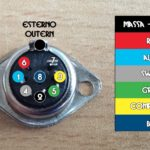 Sega Master System RGB jack femmina 9 din connettore