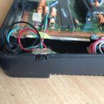 Sega Master System II 50/60 Herz mod - selettore switch