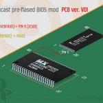 Sega Dreamcast Bios Mod - PCB V01