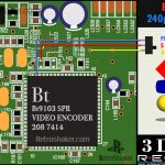 Panasonic 3do video encoder bt1903 240p