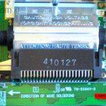 gamegear sostituzione condensatori